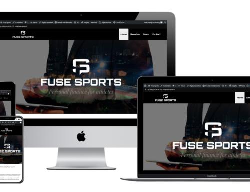 Fuse Sports lanceert nieuwe WordPress website