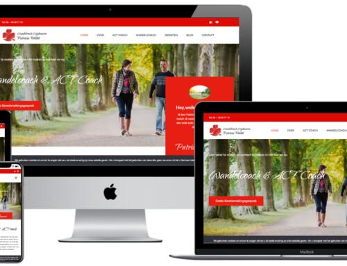Wandelcoach Patricia kiest voor WordPress website